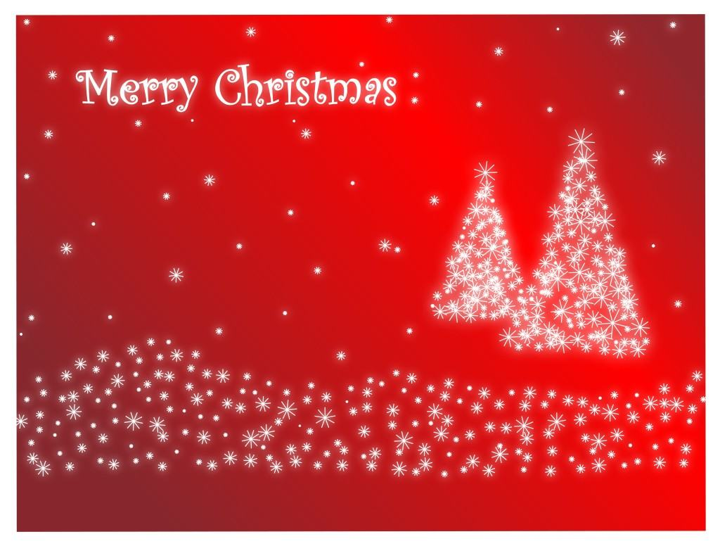 christma rosso background-20670